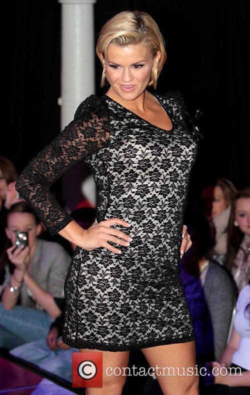 Kerry Katona hosts the 'Lifestyle Fashion Show' in...