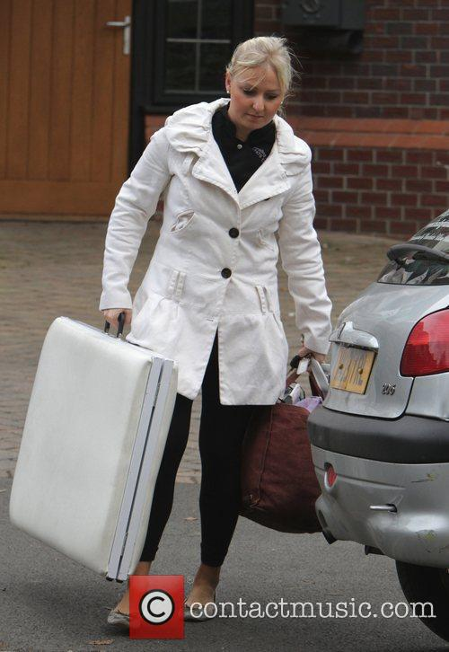 A mobile masseuse leaves the home of Kerry...