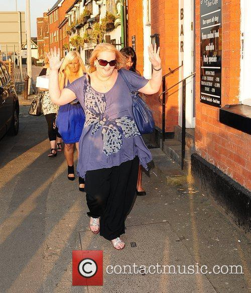 Kerry Katona holds a leaving party at 'The...