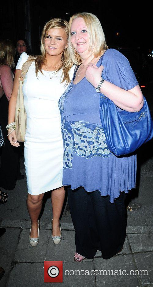 Kerry Katona and her mother Sue leaving 'The...
