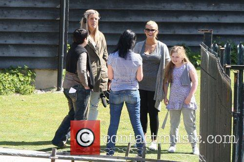 Kerry Katona  and her daughter Molly moving...