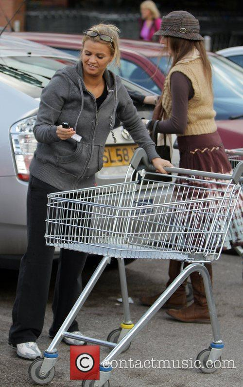 After shopping at a Tesco Supermarket.