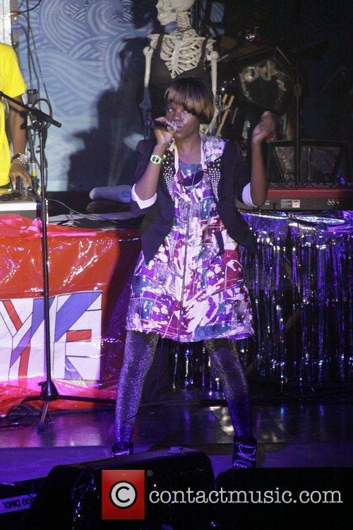 Ryeisha Berrain of Rye Rye performs Sounds Like...