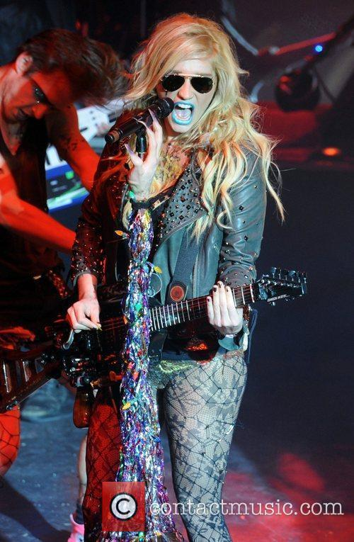 Ke$ha aka Kesha performs at Shepherd's Bush Empire