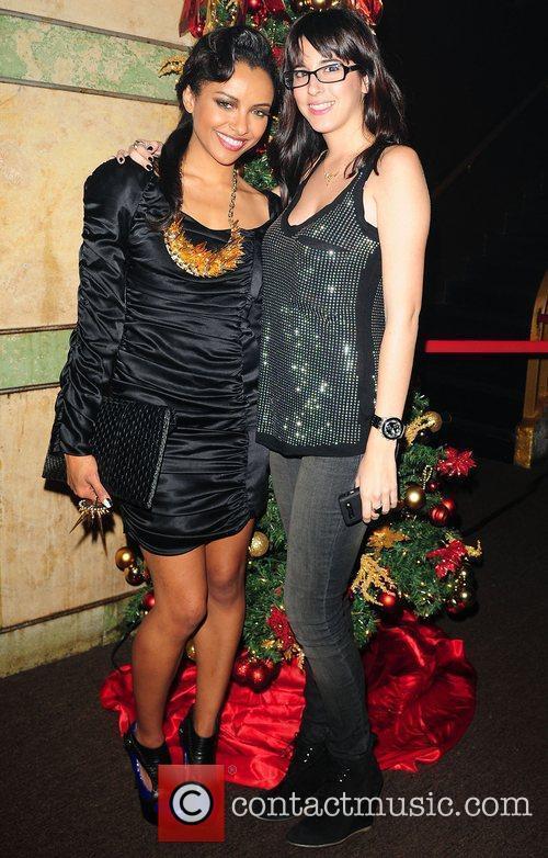 Katerina Graham hosts a party at Cameo nightclub...