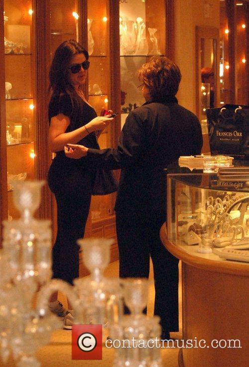 Khloe Kardashian shops at Gearys store in Beverly...