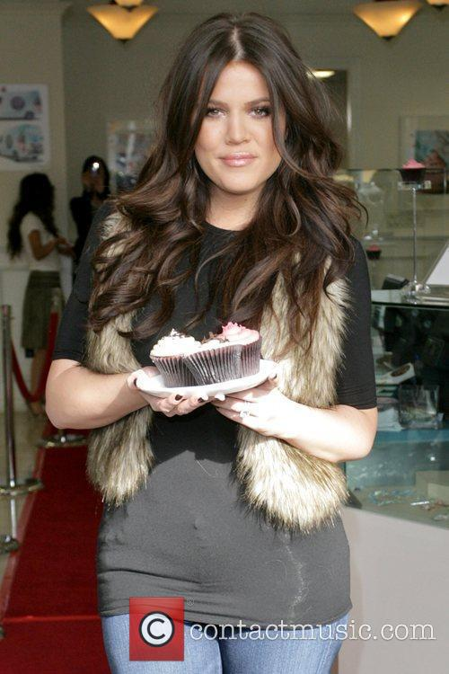 Khloe Kardashian at Famous Cupcakes in Beverly Hills...