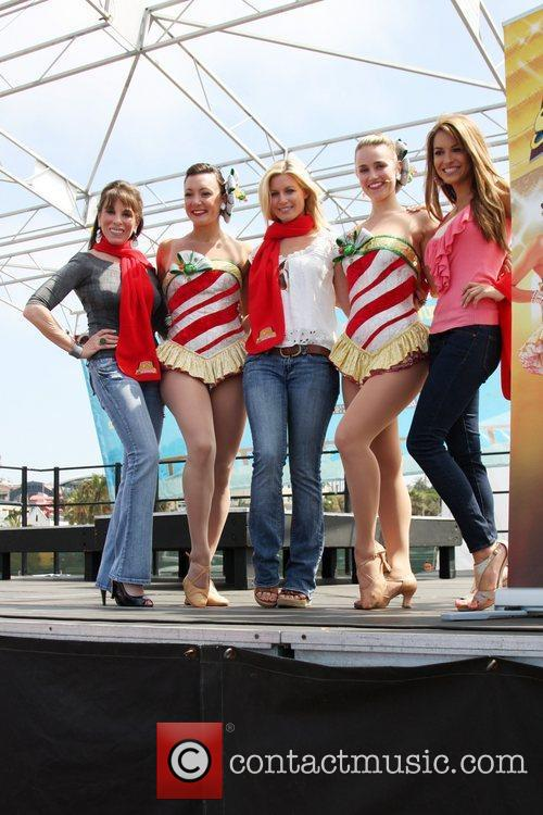 'Kicking Across America' with the Radio City Rockettes...