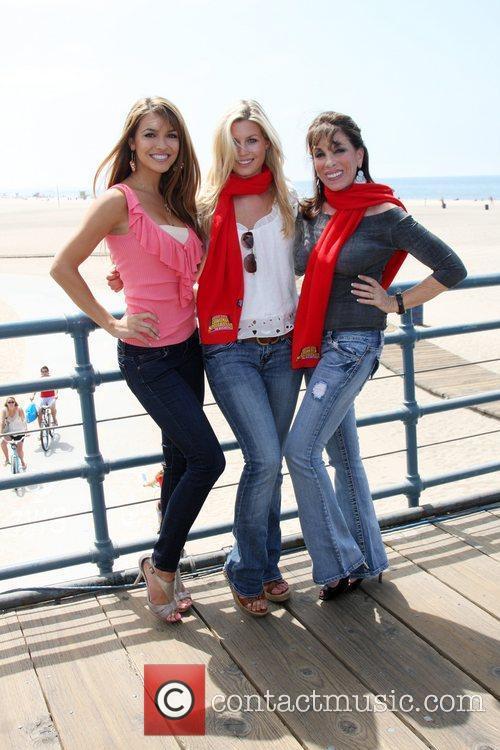 Stephanie Gatschet, Chrishnell Strause and Kate Linder 'Kicking...