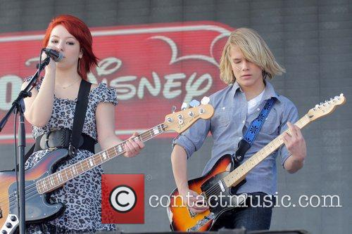 Kicking Daisies perform live during the South Beach...