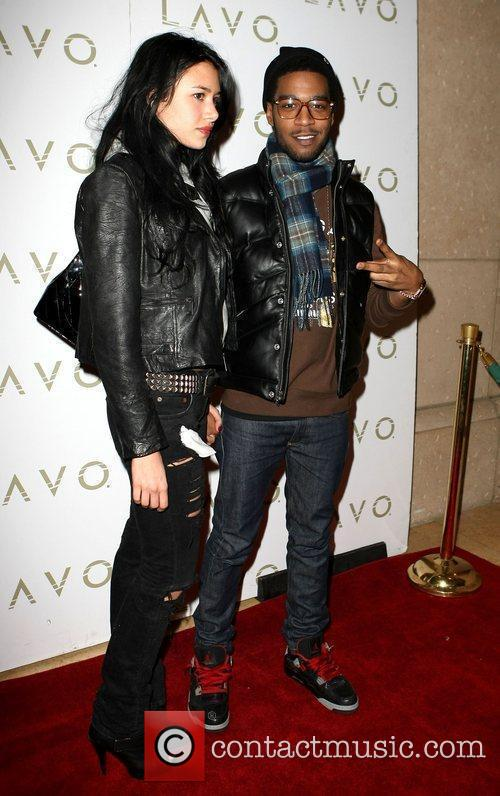 Kid Cudi, with Jame Baratta, as he hosts...