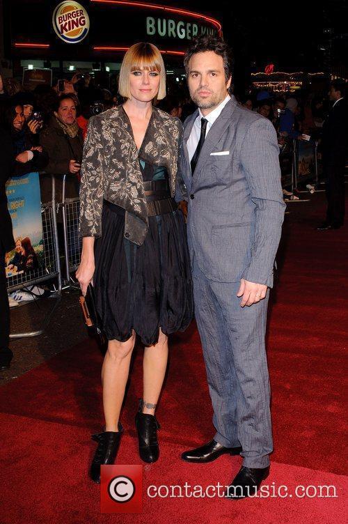 Actor Mark Ruffalo and wife Sunrise Coigney at...