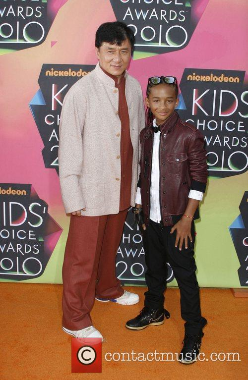 Jackie Chan and Jaden Smith Nickelodeon's 23rd Annual...