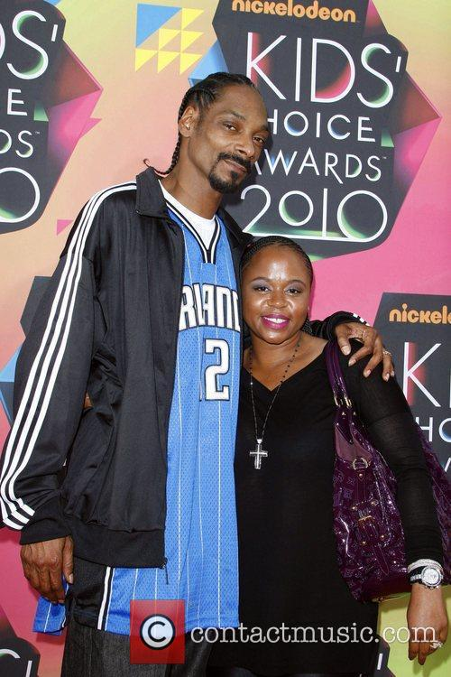 Snoop Dogg and his wife Nickelodeon's 23rd Annual...
