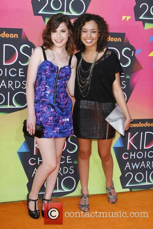 Erin Sanders and Savannah Jayde Nickelodeon's 23rd Annual...
