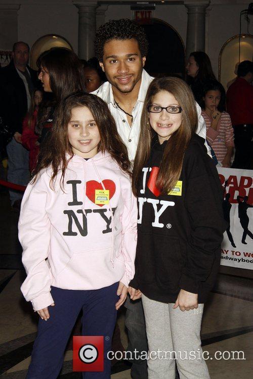 Corbin Bleu and fans The 14th Annual 'Kids'...
