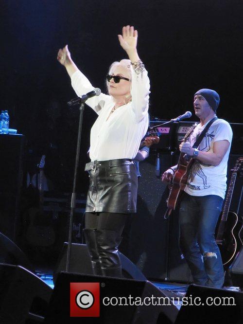 Debbie Harry of 'Blondie' Rock stars unite for...