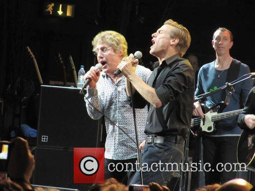 Roger Daltrey, Bryan Adams and The Who 8