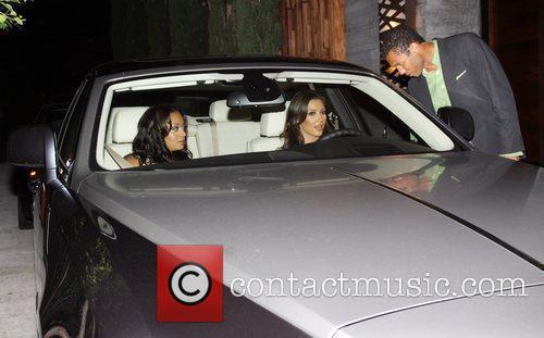 Kim Kardashian and Lala Vasquez 8