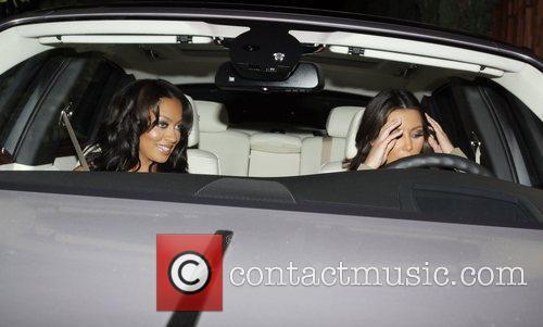 Kim Kardashian and Lala Vasquez 2
