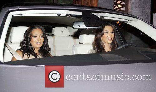 Kim Kardashian and Lala Vasquez 10