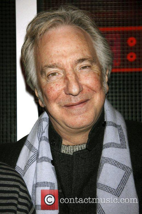 Alan Rickman  Opening night after party for...