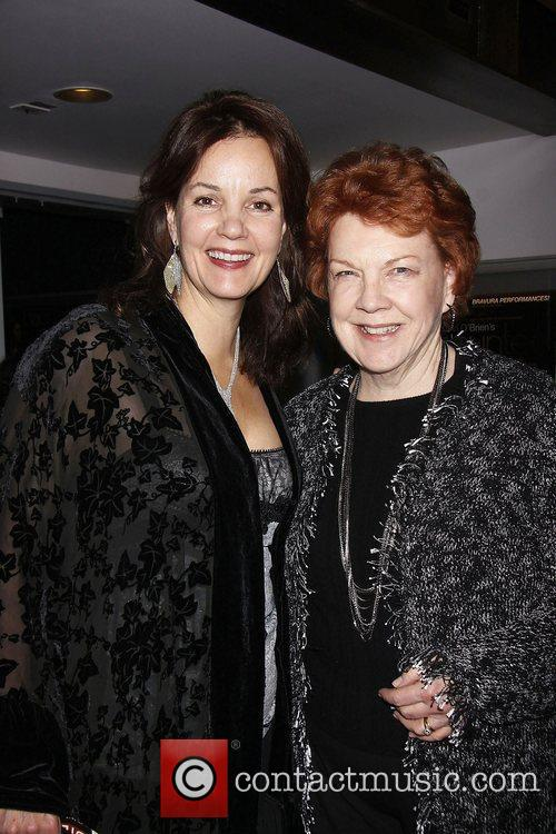 Margaret Colin and Beth Fowler  Opening night...