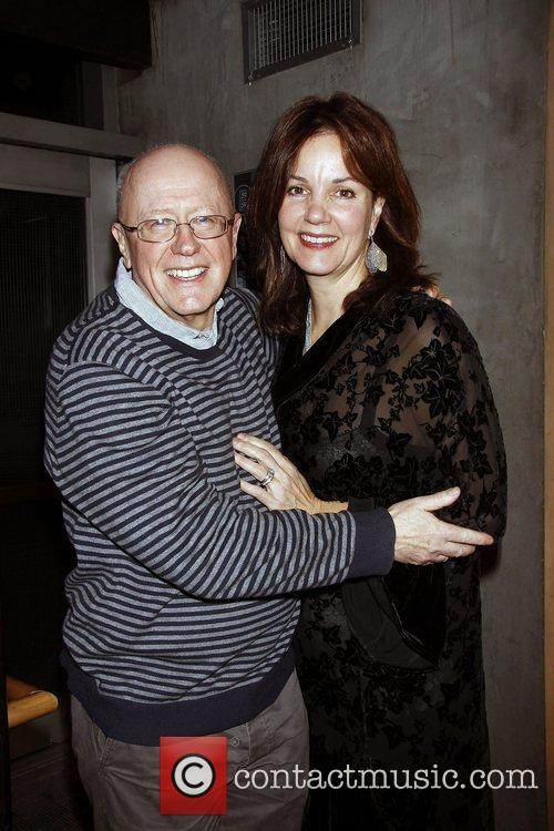 Niall Buggy and Margaret Colin  Opening night...