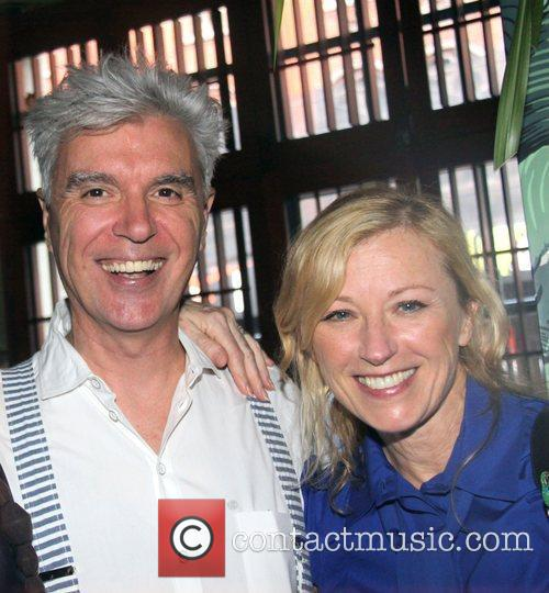 David Byrne and Cindy Sherman