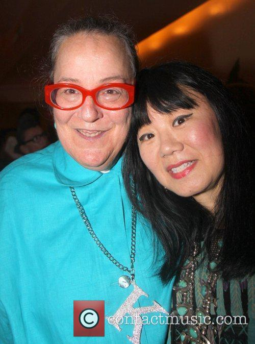 Kim Hastreiter and Anna Sui 2