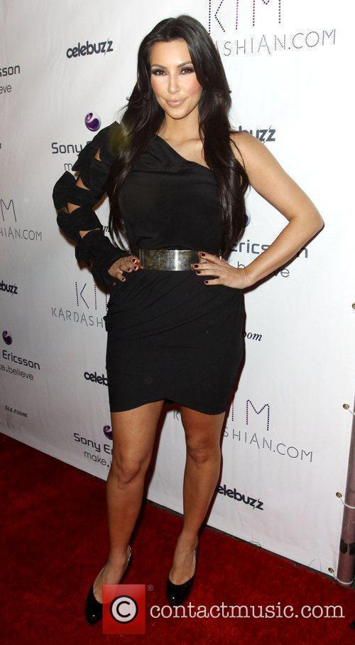 Sony Ericsson and Celebuzz celebrate KimKardashian.com held at...