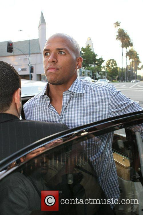 Dallas Cowboy's wide receiver Miles Austin arrives at...