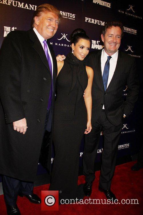 Donald Trump, Kim Kardashian and Piers Morgan...