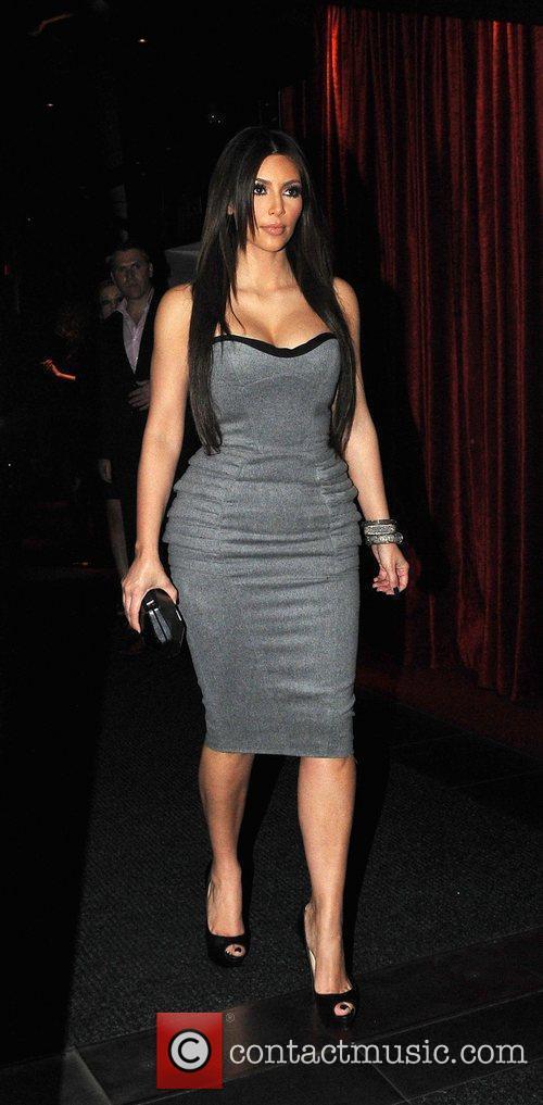 Kim Kardashian and Aqua 6