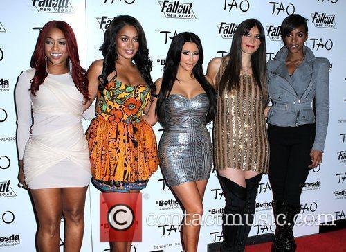 Kim Kardashian, Brittny Gastineau, Kelly Rowland and Las Vegas 9