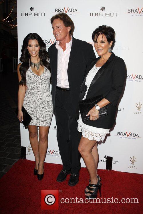 Kim Kardashian, Kris Jenner and Bruce Jenner 6