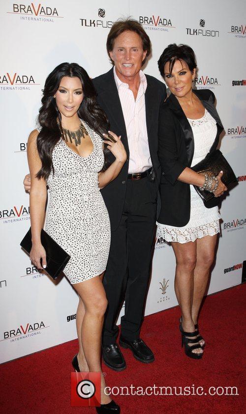 Kim Kardashian, Kris Jenner and Bruce Jenner 2