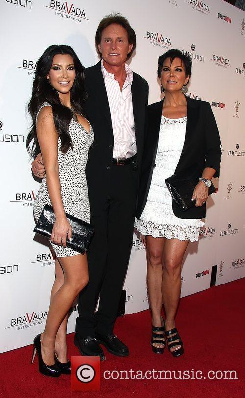 Kim Kardashian, Bruce Jenner and Kris Jenner 3
