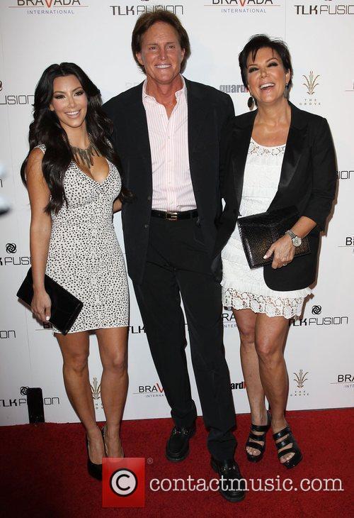 Kim Kardashian, Bruce and Kris Jenner