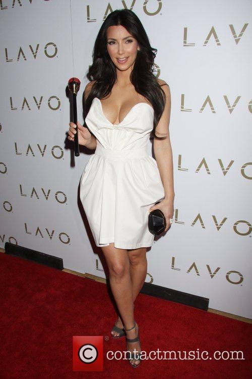 Kim Kardashian Kim Kardashian hosts The Queen of...