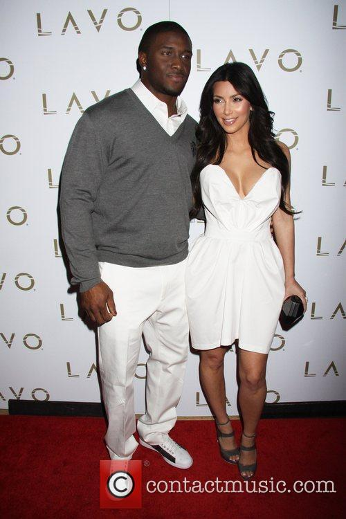 Reggie Bush and Kim Kardashian 3