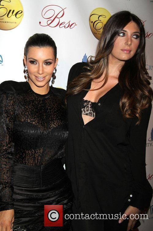 Kim Kardashian and Brittny Gastineau 7