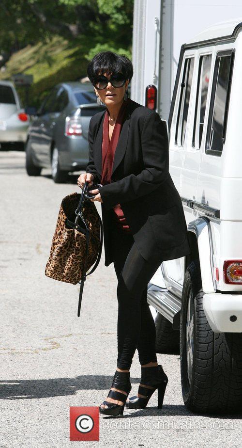 Kim Kardashian's mother Kris Jenner attends a magazine...