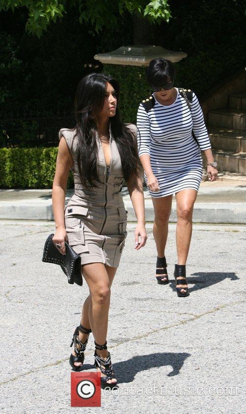 Kim Kardashian and her mother Kris Jenner attend a magazine signing event for womens publication 'Shape' 4