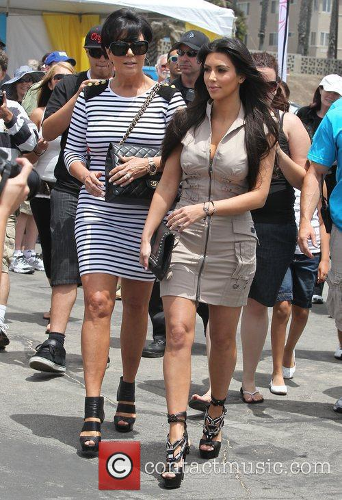 Kim Kardashian and her mother Kris Jenner attend a magazine signing event for womens publication 'Shape' 11