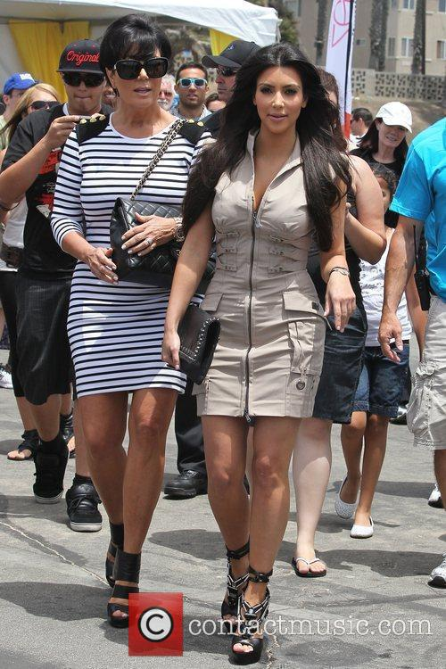 Kim Kardashian and her mother Kris Jenner attend a magazine signing event for womens publication 'Shape' 9