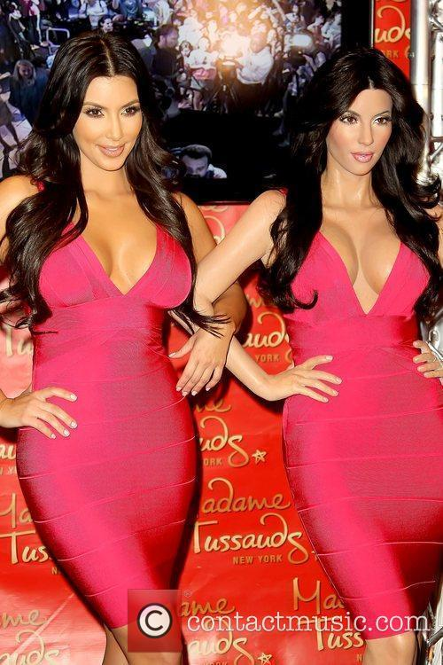 Kim Kardashian, Madame Tussauds, Times Square
