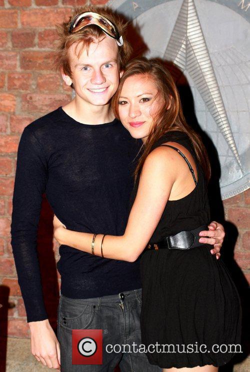 Cameron Crighton and Helen Clark-Russell Kim Tiddy birthday...