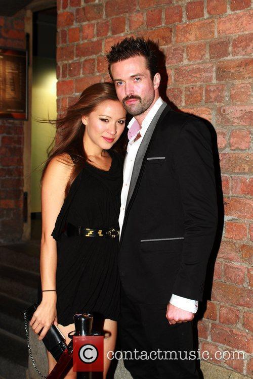 Helen Clark-Russell and Emmett Scanian Kim Tiddy birthday...