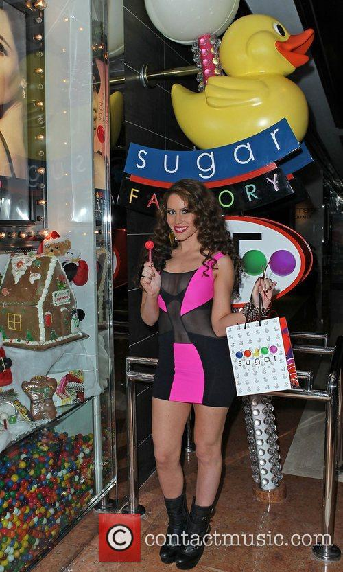Kimberly Cole appears at the Sugar Factory at...